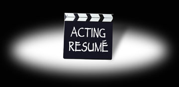 Acting Resume Service